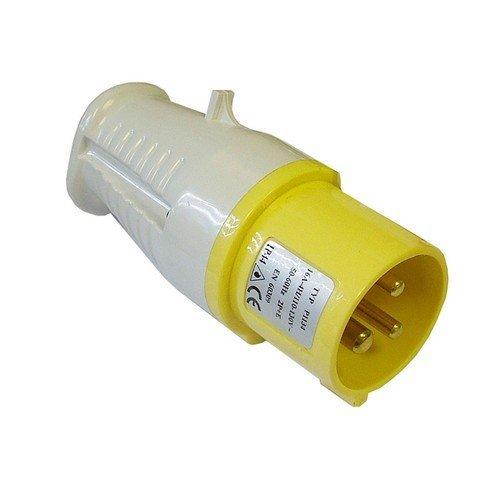 Faithfull FPPPLUG110 Yellow Plug 16 Amp 110 Volt