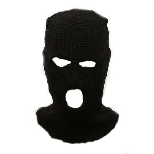 968a172c6e0 (Black) Balaclava Three Hole Ski Army Mask Sas Style on OnBuy
