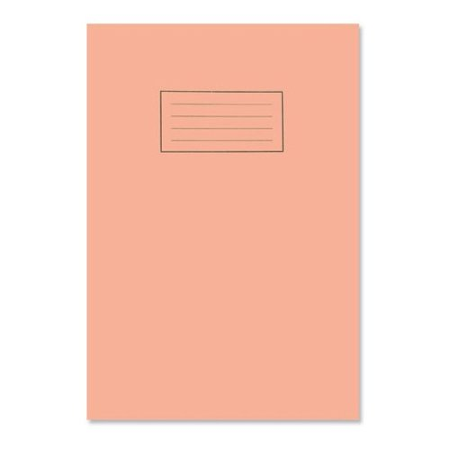 Silvine Exercise Book 5mm Square 75gsm 80 Pages A4 Orange [pack 10]