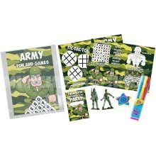 Army Pre Filled Party Bag - Kids Birthday Parties