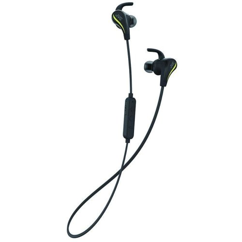 JVC AE Wireless Bluetooth Sports Headphones with Pivot Motion Fit - Black