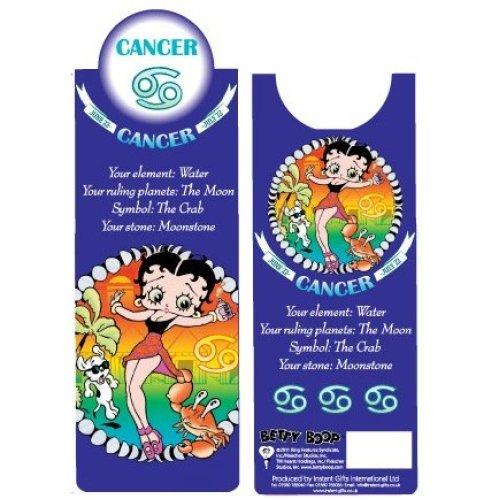 Betty Boop Cancer Bookmark