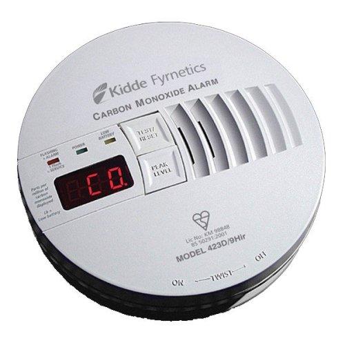 Kidde Carbon Monoxide Alarm - 423D/9HIR