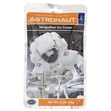 Astronaut Food - Freeze-Dried Neapolitan Ice Cream