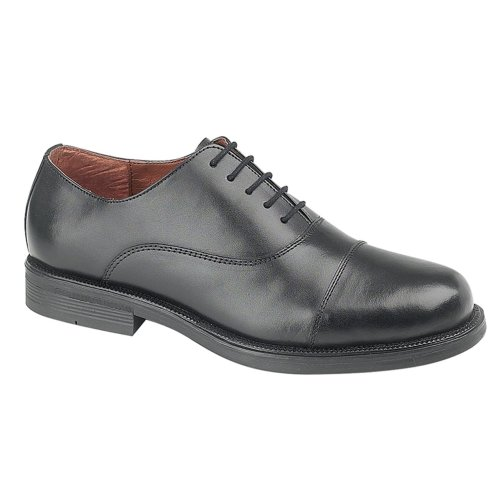 Scimitar Boys Oxford Cadet Shoe Black