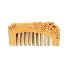 Plum Blossom Pecan Comb  Anti-static Wooden Comb
