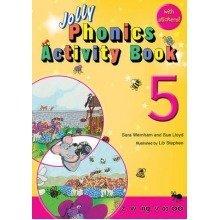 Jolly Phonics Activity Book 5: Z,w,ng,v,oo,oo