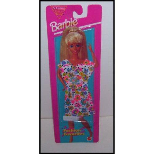 Barbie Doll Fashion Favorites Flower Print Top & Skirt Clothing Set