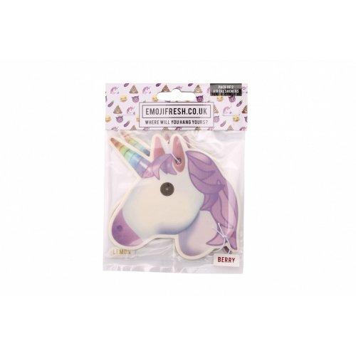 Emojifresh Unicorn Air Fresheners (Pack Of 2)