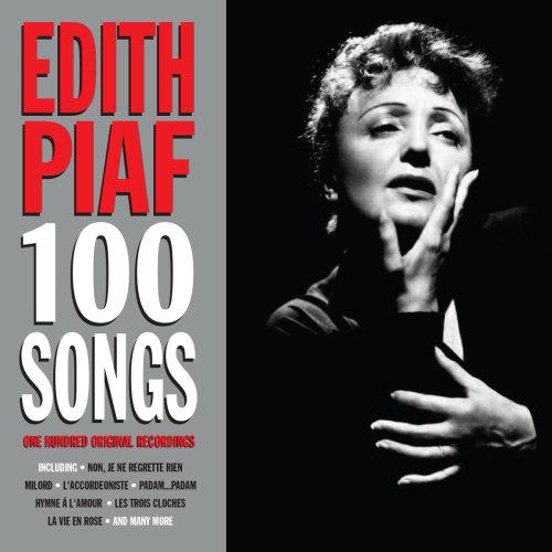 Edith Piaf - 100 Songs 100 Original Recordings On 4CD