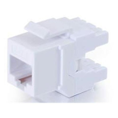 CABLES TO GO 35210 CAT6 180 KEYSTONE JACK WHT