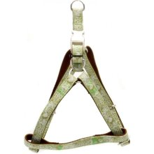 25mm x 600-1000mm Green Henna Dog Harness - Envy 25x60100cm -  envy henna harness dog green 25x60100cm