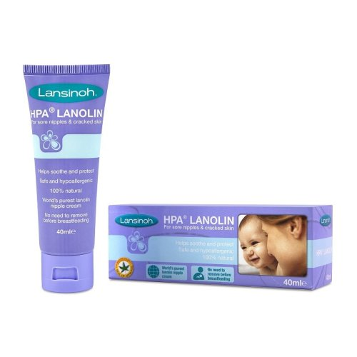 HPA Lanolin Nipple Soothing Cream 40ml