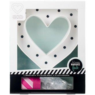 Heidi Swapp Marquee Love Washi Tape Kit-Heart