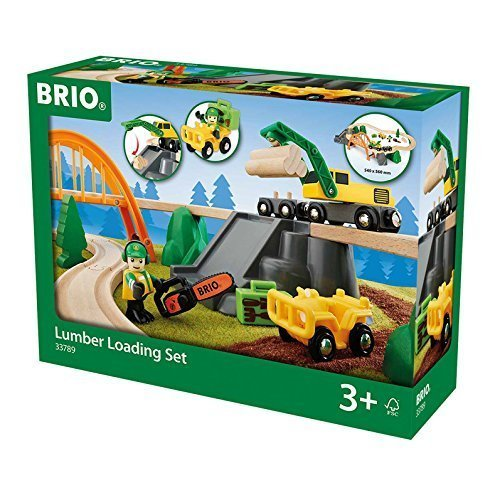 BRIO Lumber Loading Set