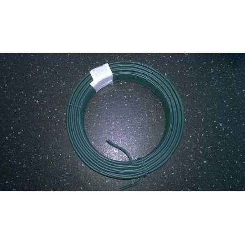 Heavy Duty Wire - Garden / Fencing / Other 26m x 3.4 mm Plastic Coated - 1.15 kg