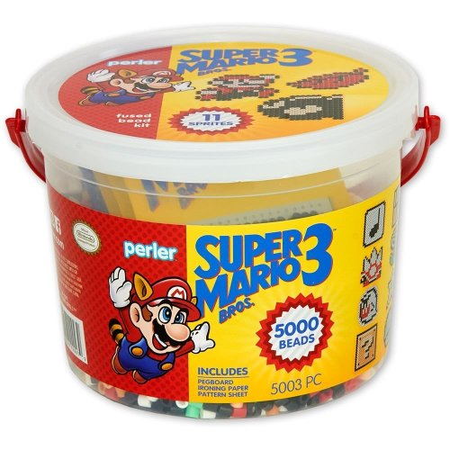 Perler Beads - Super Mario 3 -Bucket