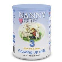 Nanny Nanny Care Goat Growing Up Milk 400g