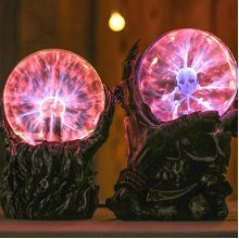 Halloween Skull Magic Ball Night Light