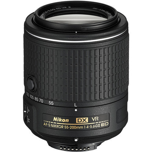 NIKON AF-S 55-200MM F4-5.6G ED VR II DX