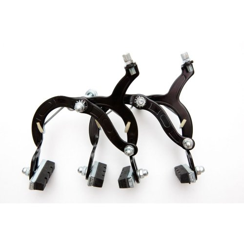 PAIR of BMX or MOUNTAIN BIKE BRAKE CALIPERS in BLACK (Brand New)
