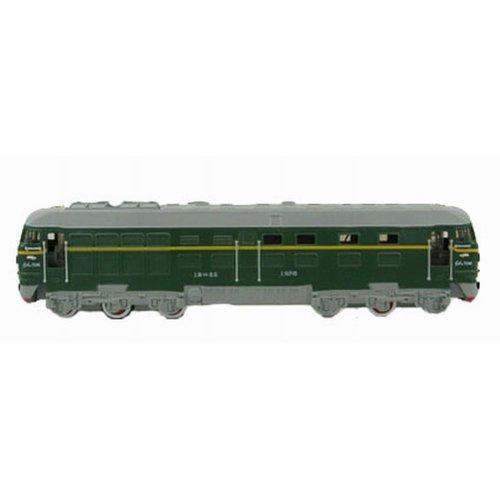 Simulation Locomotive Toy Model Trains Toy Train, Green (23*4*5.5CM)