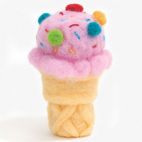 D72-74027 - Dimensions Needle Felting - Ice Cream Cone
