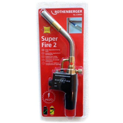 Rothenberger Superfire 2-Turbo Brazing Torch