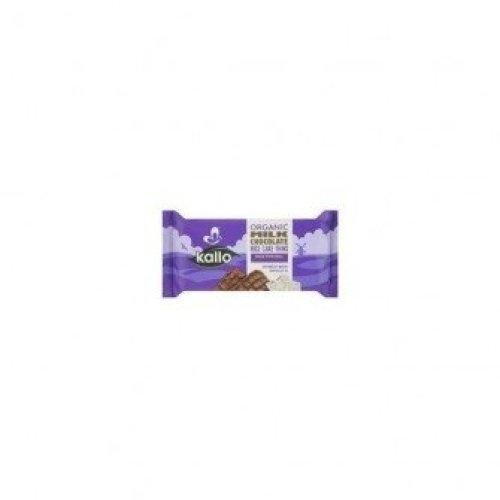KALLO FOODS - Organic Milk Chocolate Rice Cakes