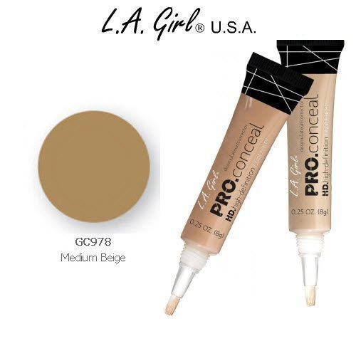 L.a. Girl Pro Conceal Hd 978 Medium Beige by L.A. Girl