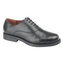 Scimitar Boys Oxford Cadet Shoe Black