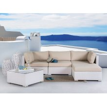 Sectional Outdoor Sofa Set - Modern Wicker Furniture - SANO