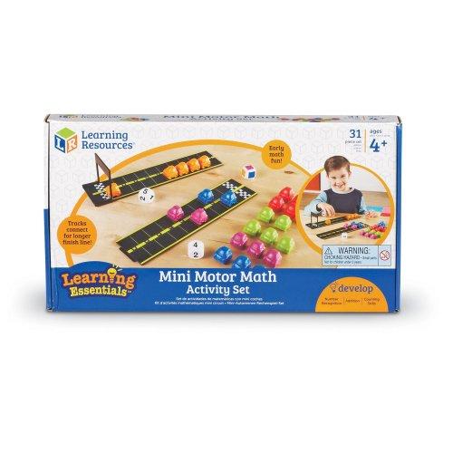 Learning Resources Mini Motor Math Activity Set