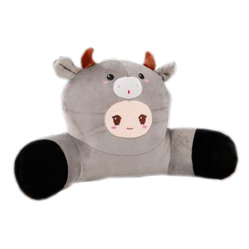 Cute Plush Seat Cushions Extra Soft Back Chair Pad  for Kitchen Office Car?Cattle