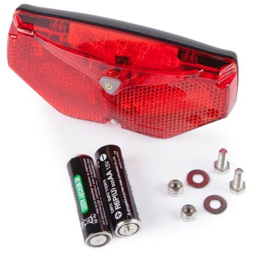 Ultrasport Automatic Led Safety Bike Rear Light - 5 LED