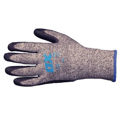 OX S249209 PU Flex Cut 5 Grip Gloves Size 9 Large