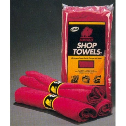 Buffalo 324420108 62010C Shop Towels - 10 per Pack