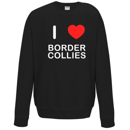 I Love Border Collies - Sweater