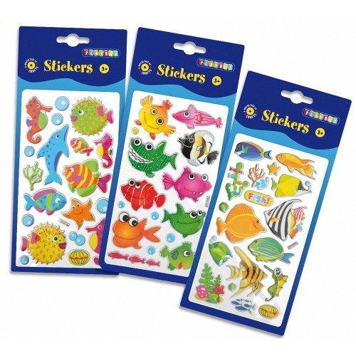 Pbx2470629 - Playbox - Puffy Stickers (fish )