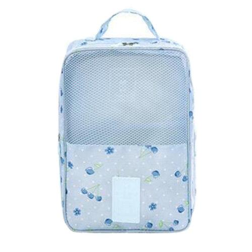 Portable Shoe Bag Shoes Organizer Holder Storage Bag Travel Outdoors, K