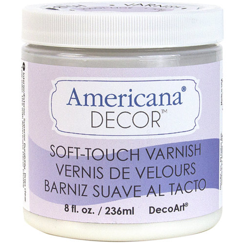 Americana Decor Varnish 8oz-Soft Touch