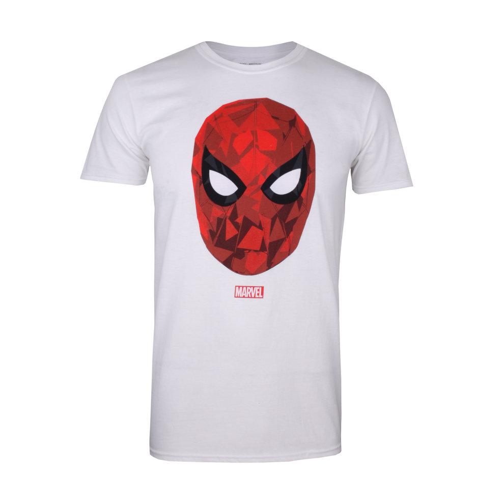 5afa2976 Marvel Spiderman Poly Mens T-shirt White on OnBuy