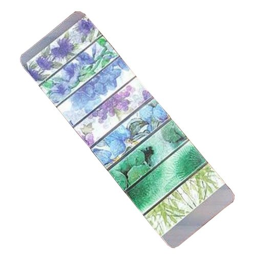 Set of 2 Washi Masking Tapes Decorative Washi Tapes Craft Tapes Bamboo