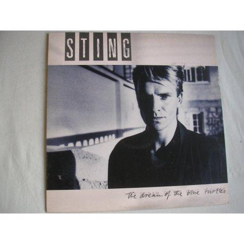 STING - The Dream Of The Blue Turtles UK LP + inner 1985 ex/ex
