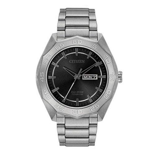 Citizen Eco-Drive Super Titanium Mens Watch AW0060-54H
