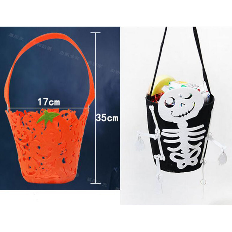 trick or treat skeleton halloween party decor children prop candy