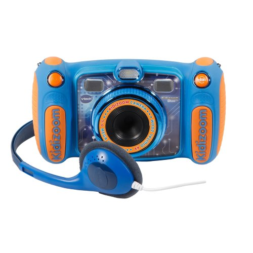 VTech Kidizoom Duo 5.0, Digital Camera, Child with 5 Megapixel Camera, Colour Screen, 10 different functions, 2 Goals (3480 – 507157)...