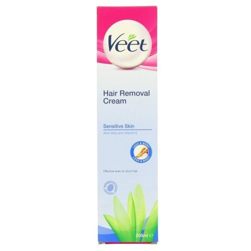 Veet Sensitive Hair Removal Cream Aloe Vera and Vitamin E 200ml