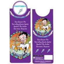 Betty Boop Sagittarius Bookmark