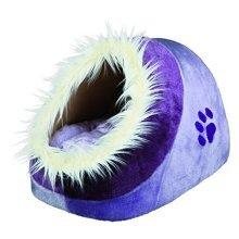 Trixie Minou Cuddly Cat /dog Cave, 35x26 41cm, Lilac/violett - Cave Dog 41cm -  cave trixie cuddly minou cat dog 41cm 35x26 lilacviolett bed